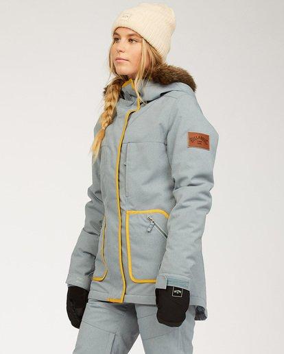 1 Women's Into The Forest Snow Jacket Multicolor JSNJ3BIN Billabong