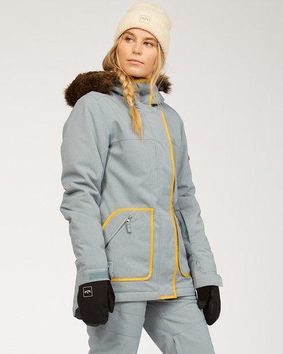 2 Women's Into The Forest Snow Jacket Multicolor JSNJ3BIN Billabong