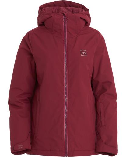 10 Women's Sula Snow Jacket Red JSNJ3BSU Billabong