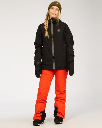 4 Women's Sula Snow Jacket Black JSNJ3BSU Billabong