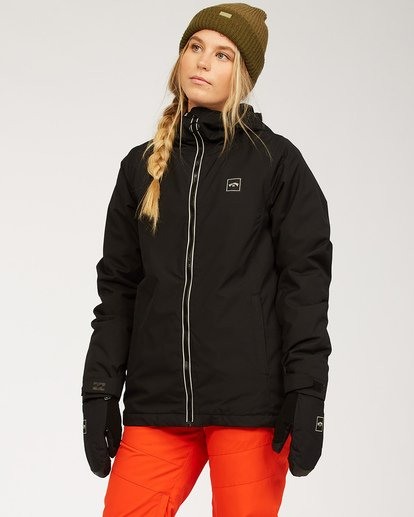 1 Women's Sula Snow Jacket Black JSNJ3BSU Billabong