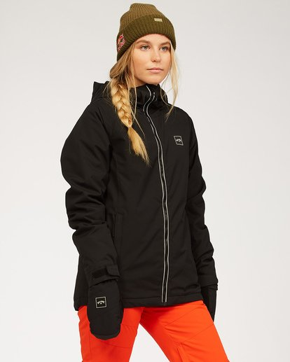 2 Women's Sula Snow Jacket Black JSNJ3BSU Billabong