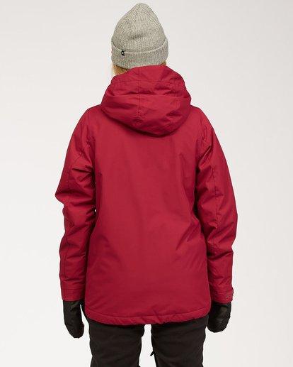 3 Women's Sula Snow Jacket Red JSNJ3BSU Billabong