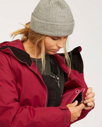 5 Women's Sula Snow Jacket Red JSNJ3BSU Billabong
