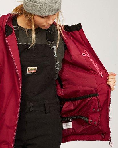 7 Women's Sula Snow Jacket Red JSNJ3BSU Billabong