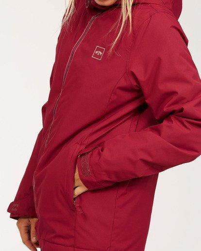 8 Women's Sula Snow Jacket Red JSNJ3BSU Billabong