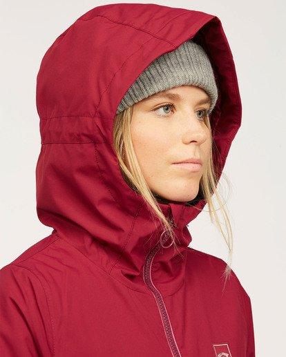 9 Women's Sula Snow Jacket Red JSNJ3BSU Billabong