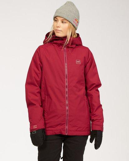 0 Women's Sula Snow Jacket Red JSNJ3BSU Billabong