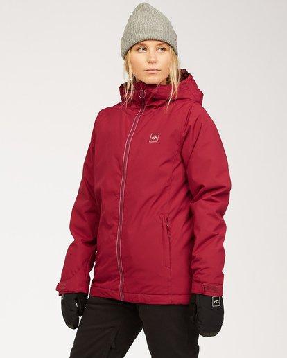 1 Women's Sula Snow Jacket Red JSNJ3BSU Billabong