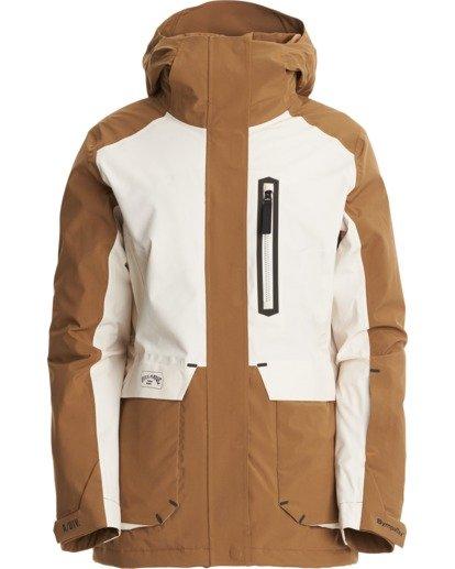 7 A/DIV Women's Trooper STX Snow Jacket Brown JSNJ3BTS Billabong