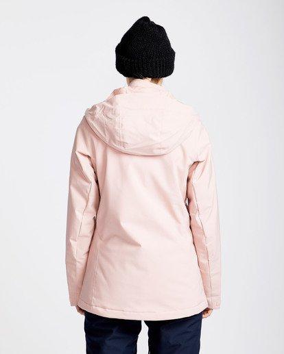 3 Women's Elodie Outerwear Jacket Pink JSNJQELO Billabong