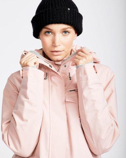1 Women's Elodie Outerwear Jacket Pink JSNJQELO Billabong