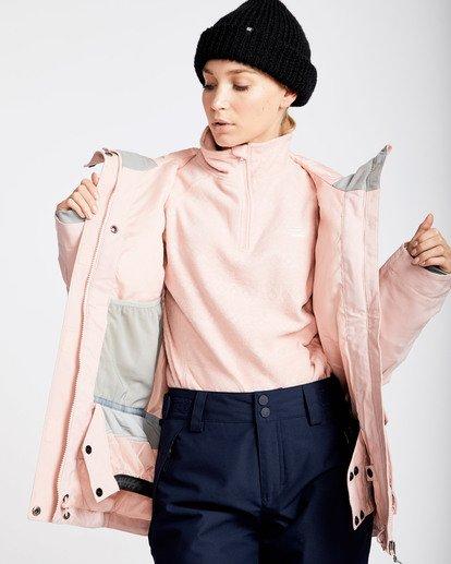 2 Women's Elodie Outerwear Jacket Pink JSNJQELO Billabong