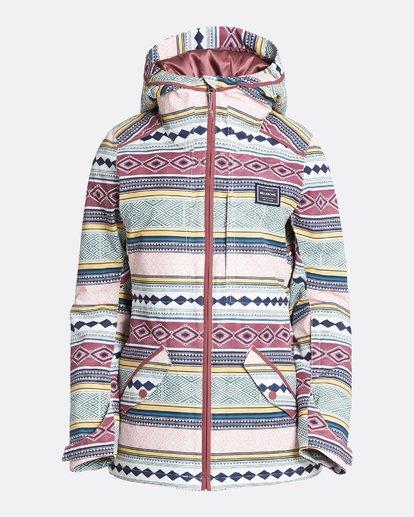 3 Women's Jara Outerwear Jacket Multicolor JSNJQJAR Billabong
