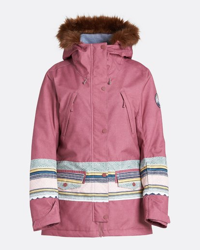 4 Women's Nora Snow Jacket Multicolor JSNJQNOR Billabong