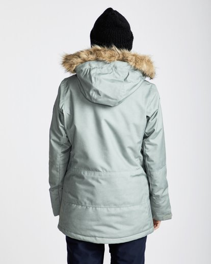 2 Women's Nora Snow Jacket Green JSNJQNOR Billabong