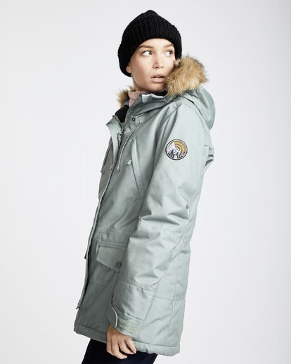1 Women's Nora Snow Jacket Green JSNJQNOR Billabong