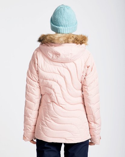 3 Women's Soffya Outerwear Jacket Pink JSNJQSOF Billabong