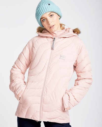 0 Women's Soffya Outerwear Jacket Pink JSNJQSOF Billabong