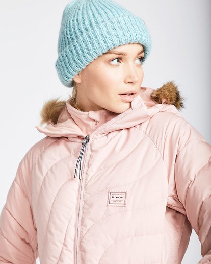 2 Women's Soffya Outerwear Jacket Pink JSNJQSOF Billabong