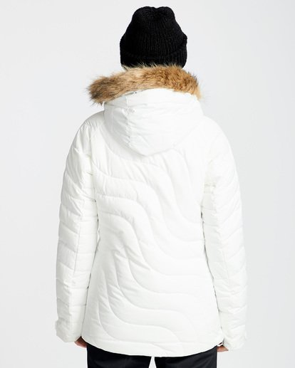 2 Women's Soffya Outerwear Jacket White JSNJQSOF Billabong