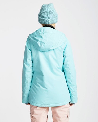 1 Women's Sula Solid Outerwear Jacket Blue JSNJQSUL Billabong