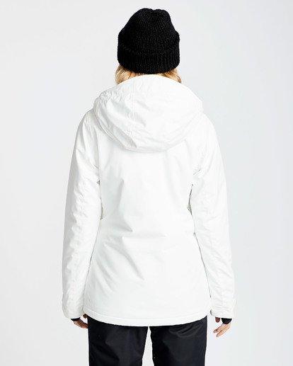 1 Women's Sula Solid Outerwear Jacket White JSNJQSUL Billabong