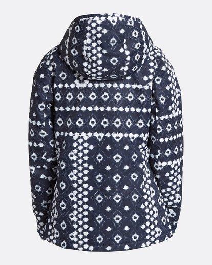 9 Women's Sula Print Outerwear Jacket Blue JSNJQSUP Billabong