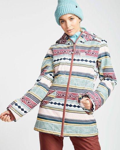 3 Women's Sula Print Outerwear Jacket  JSNJQSUP Billabong