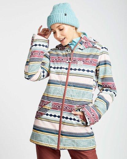 1 Women's Sula Print Outerwear Jacket  JSNJQSUP Billabong