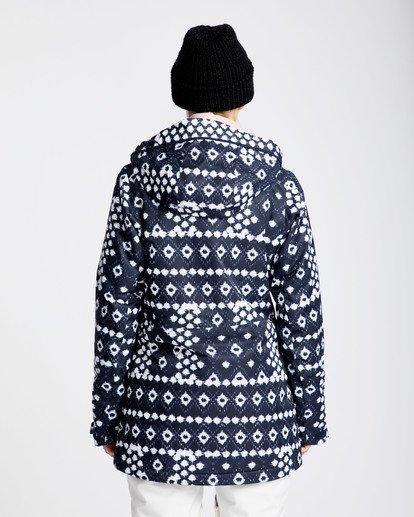 3 Women's Sula Print Outerwear Jacket Blue JSNJQSUP Billabong