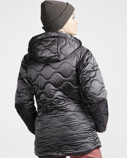 2 Women's Bliss Snow Jacket Grey JSNJVBBL Billabong