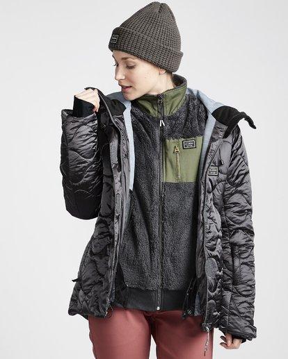3 Women's Bliss Snow Jacket Grey JSNJVBBL Billabong