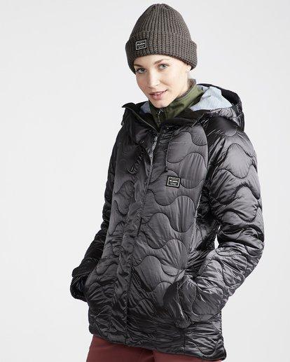 1 Women's Bliss Snow Jacket Grey JSNJVBBL Billabong