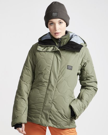 1 Women's Bliss Snow Jacket Green JSNJVBBL Billabong