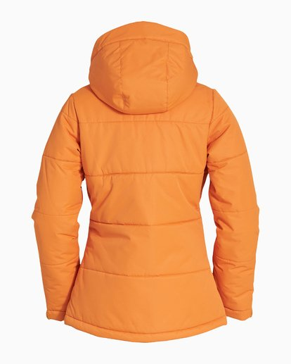 5 Women's Down Rider Snow Jacket Orange JSNJVBDR Billabong
