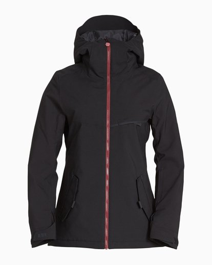 4 Women's Eclipse Snow Jacket Black JSNJVBEC Billabong