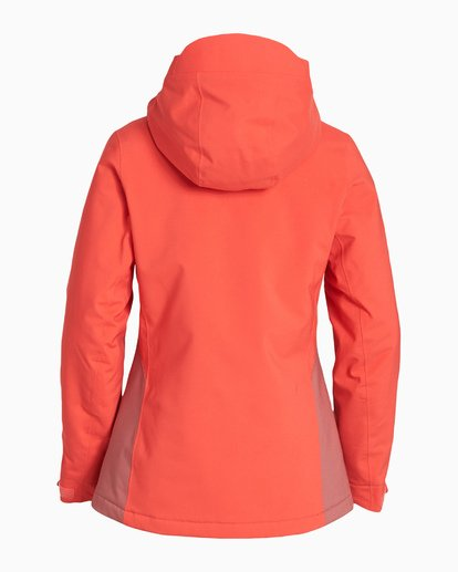 6 Women's Eclipse Snow Jacket Red JSNJVBEC Billabong