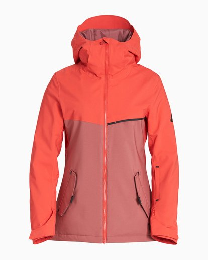 5 Women's Eclipse Snow Jacket Red JSNJVBEC Billabong