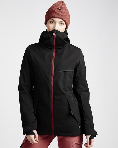 0 Women's Eclipse Snow Jacket Black JSNJVBEC Billabong