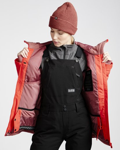 4 Women's Eclipse Snow Jacket Red JSNJVBEC Billabong