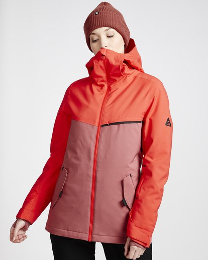 1 Women's Eclipse Snow Jacket Red JSNJVBEC Billabong
