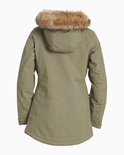 5 Women's Into The Forest Snow Jacket Green JSNJVBIN Billabong