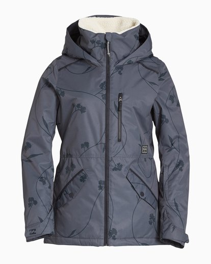 4 Women's Jara Snow Jacket Grey JSNJVBJA Billabong