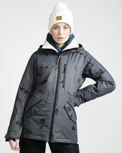 0 Women's Jara Snow Jacket Grey JSNJVBJA Billabong