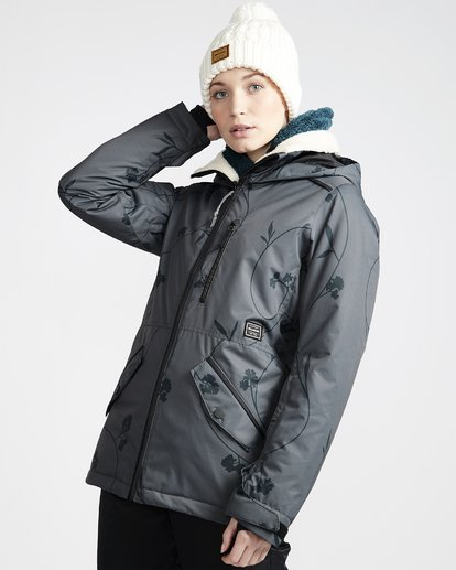 1 Women's Jara Snow Jacket Grey JSNJVBJA Billabong