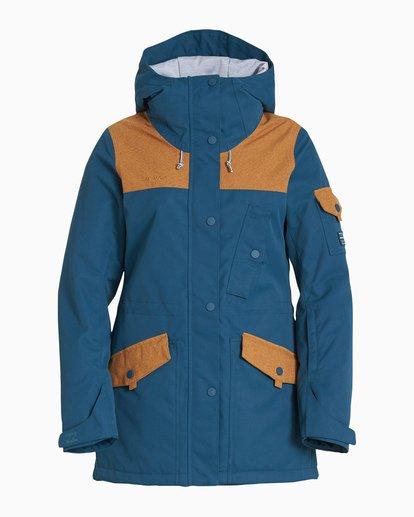 4 Women's Scenic Route Snow Jacket Blue JSNJVBSR Billabong