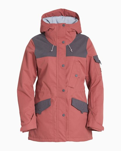 4 Women's Scenic Route Snow Jacket Purple JSNJVBSR Billabong