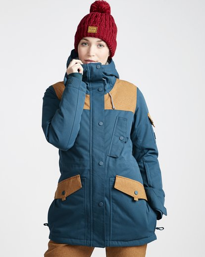 0 Women's Scenic Route Snow Jacket Blue JSNJVBSR Billabong