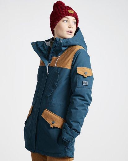 1 Women's Scenic Route Snow Jacket Blue JSNJVBSR Billabong